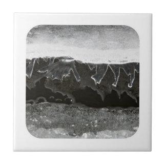 Capas del hielo azulejo cuadrado pequeño