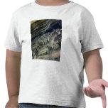 Capas expuestas en el barranco polar camiseta
