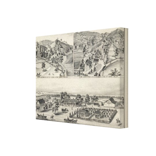 Capay property canvas print