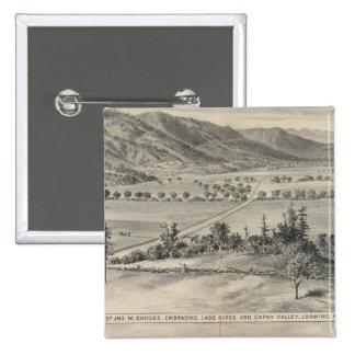 Capay Valley, Harlan farm Button
