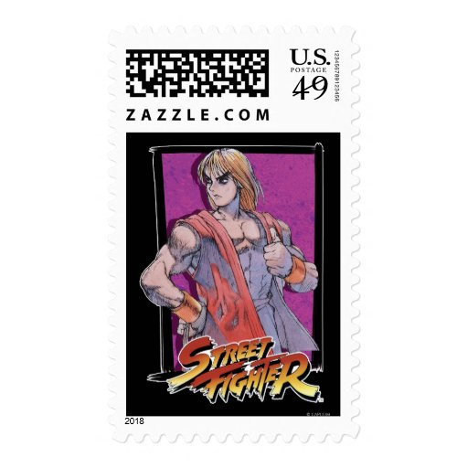 Capcom Street Fighter Exclusive Stamps