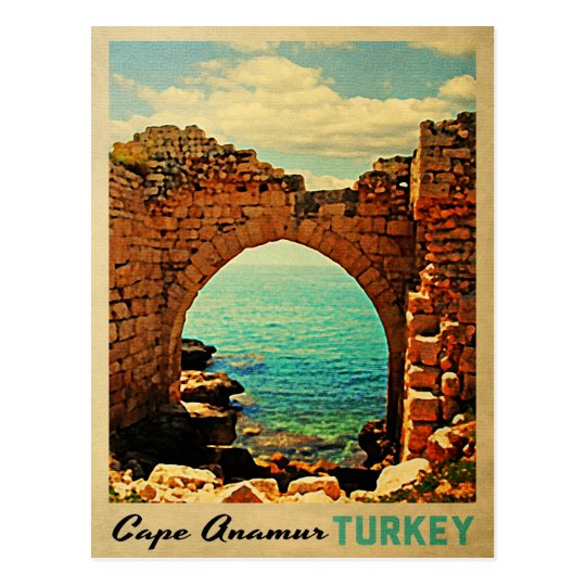 Cape Anamur Turkey Postcard