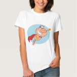 Cape and mask wearing  pig flying t shirts