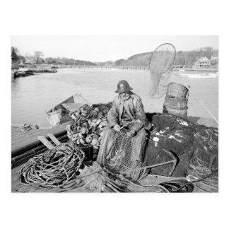 Cape Ann Fisherman, 1905 Postcard