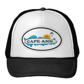 Cape Ann - Oval Design. Trucker Hat