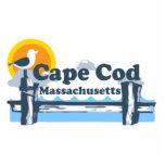 Cape Ann - Oval Design. Photo Cutouts