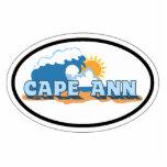 Cape Ann - Oval Design. Photo Sculptures