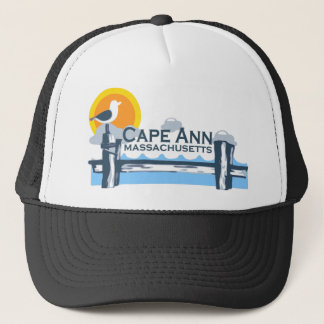 Cape Ann - Pier Design. Trucker Hat