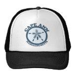 Cape Ann - Sand Dollar Design. Hat