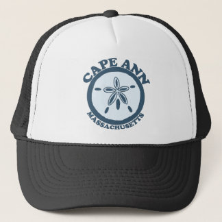 Cape Ann - Sand Dollar Design. Trucker Hat