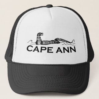 Cape Ann - Serpent Design. Trucker Hat
