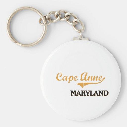 Cape Anne Maryland Classic Key Chain