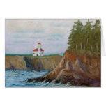 Cape Arago Lighthouse Card