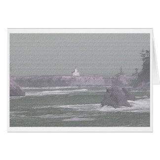 Cape Arago note Card