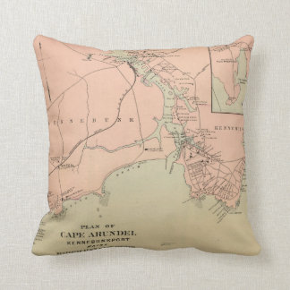 Cape Arundel, Kennebunkport, Maine Throw Pillow