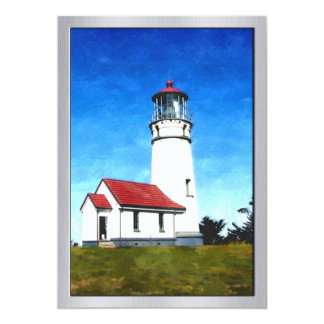 Cape Blanco Oregon Lighthouse Card