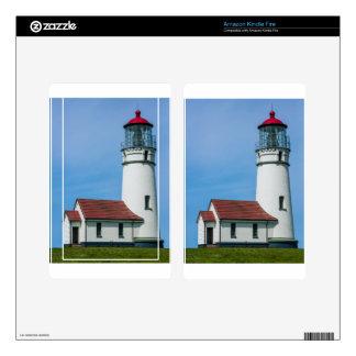 Cape Blanco Oregon Lighthouse Skins For Kindle Fire