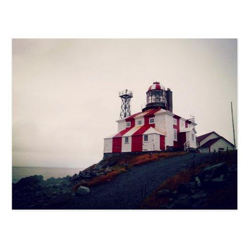Cape Bonavista Lighthouse Postcard