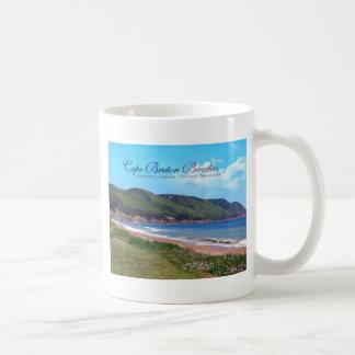 Cape Breton Beaches Basic White Mug