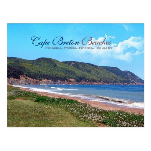 Cape Breton Beaches Postcard