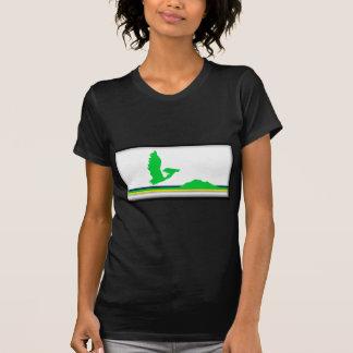 Cape Breton Island (Canada Nova Scotia) Flag T-Shirt