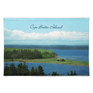 Cape Breton Island Cloth Placemat