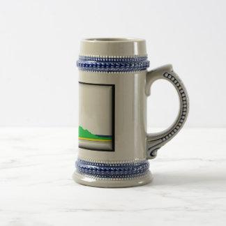 Cape Breton Island Flag Coffee Mugs