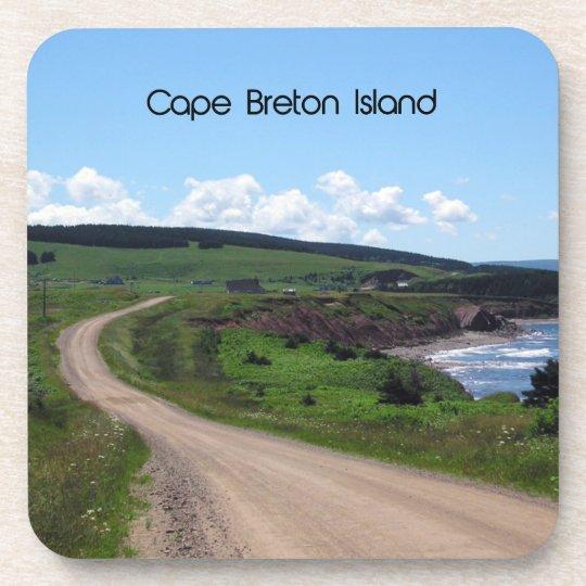 Cape Breton island Landscape Beverage Coaster