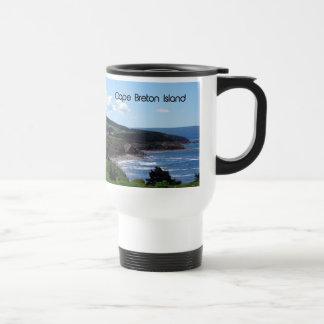 Cape Breton island Landscape Travel Mug