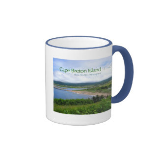 Cape Breton Island Ringer Mug