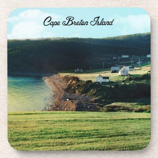 Cape Breton Island, Nova Scotia Beverage Coaster