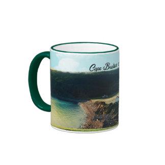 Cape Breton Island, Nova Scotia Ringer Coffee Mug