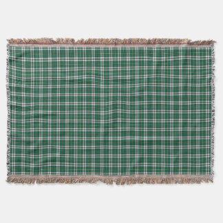Cape Breton Nova Scotia Canada Tartan Pattern Throw Blanket