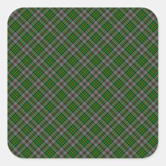 Cape Breton Tartan Designed Print (Canada) Square Sticker