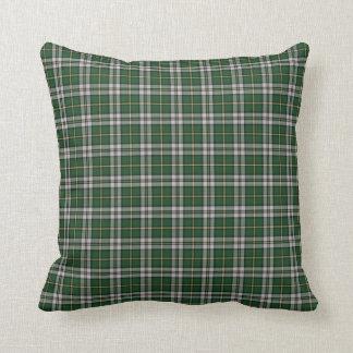 Cape Breton tartan plaid Throw Pillow