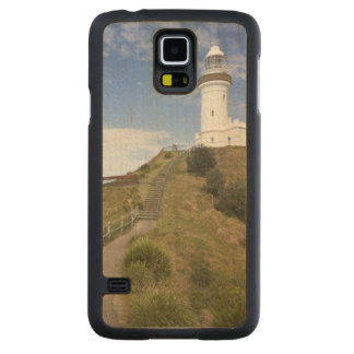 Cape Byron Lighthouse, Cape Byron (Australia's 2 Carved® Maple Galaxy S5 Case