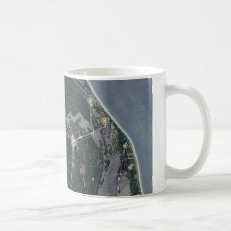 Cape Canaveral Aerial Shot Coffee Mug