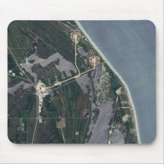 Cape Canaveral Aerial Shot Mouse Pad