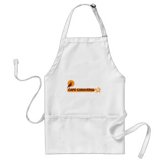 Cape Canaveral - Beach Design. Adult Apron