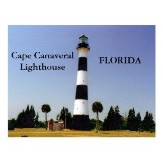 Cape Canaveral Lighthouse Florida Postcard