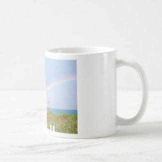 Cape Canaveral Rainbow Coffee Mugs