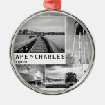 Cape Charles. Christmas Ornament