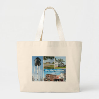 Cape Charles. Large Tote Bag