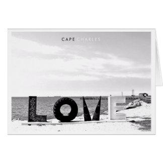 Cape Charles - Love. Card