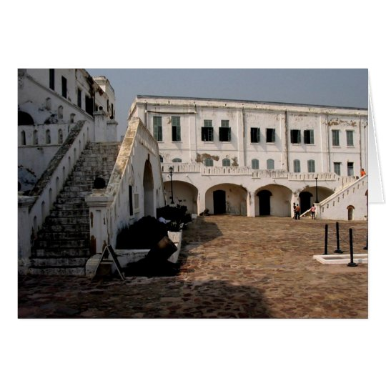 cape coast castle card