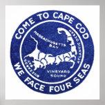 Cape Cod 1910 Poster