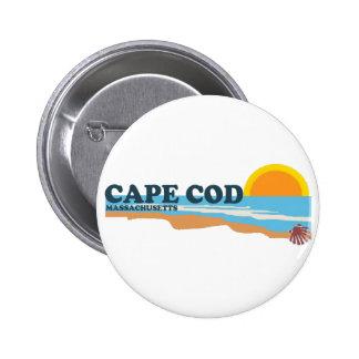Cape Cod. 2 Inch Round Button
