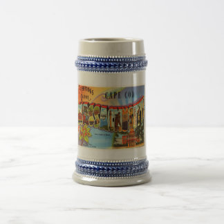 Cape Cod #2 Massachusetts MA Old Travel Souvenir Beer Stein