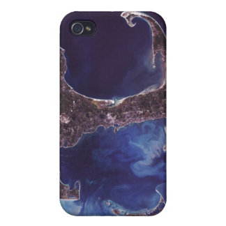 Cape Cod Aerial Photograph Cover For iPhone 4