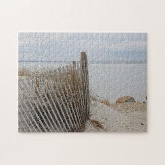 Cape Cod Bay Beach Jigsaw Puzzle